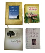 Christian Prayer Spiritual Growth Lot of 4 Books Hope for Each Day, Pray... - $15.83