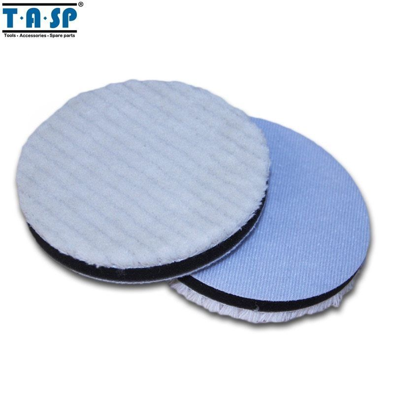 Primary image for TASP® 2pcs/Set 125mm Twisted Wool Polishing Buffing Pads For Car Glass Polishing