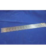 GLASS PIPETTE Set of 6 ROCH Scientific Serological 1in 1/100ml 5015 - $25.73