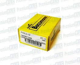 BOX OF 10 COOPER BUSSMANN FNM-2-1/2 CLASS MIDGET FUSES  2-1/2A 250V FNM212 NIB