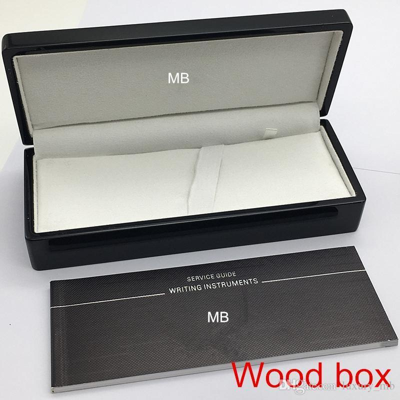 Luxury Pen Box with The papers Manual booklet For Gift mb case supply image 4