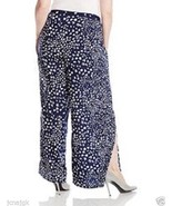 Jessica Simpson NWT Women Plus 2X Kenny Pants w/ Wide Leg & Slits at Sid... - $41.03