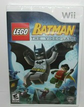 LEGO Batman: The Video game Nintendo Wii Factory Sealed - $11.88