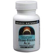 Source Naturals Trans-Ferulic Acid 250 mg 60 Tablet - $14.81