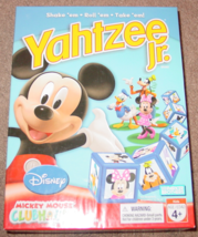 YAHTZEE JR MICKEY MOUSE CLUB HOUSE DICE GAME 2007 PARKER BROTHERS HASBRO... - $15.00