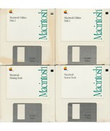 Macintosh Tools & Utilities Ver. 6.0.5 ~ 1990 Software 4 disk set       ... - $41.58