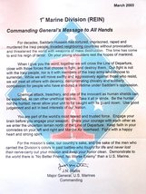 General James Mattis Poster USMC Poster 18x24 - $19.79