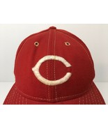 Vintage Cincinnati Reds Hat Wool Baseball Cap Annco Professional USA MLB... - $79.30