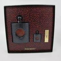 Yves Saint Laurent Black Opium Perfume 3.0 Oz Eau De Parfum Spray 3 Pcs Gift Set image 6
