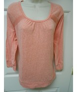 Calvin Klein Jeans Pink Top size XL 3/4 sleeves ✨ activewear Top  ac - $11.57