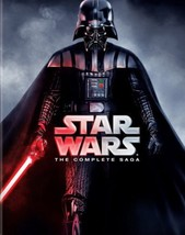 STAR WARS The Complete Saga Episodes 1 - 6  dvd collection - $69.00