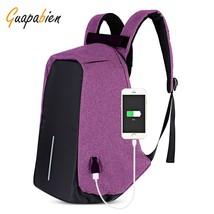 Backpack School, Mens Usb Charging Modern Stylish Student School Backpac... - $43.07 CAD
