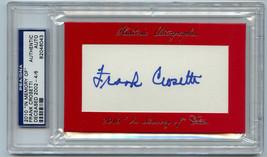 Frank Crosetti Signature Cut Auto PSA/DNA 2010 Historic Autos In Memory Of - $127.71