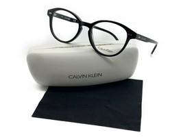 New Calvin Klein CK5991 001 Black Eyeglasses 52mm with Case & Cloth - $48.47