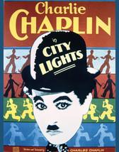 City Lights Charles Chaplin Fine Art Reproduction Artwork 16x20 Canvas - $69.99