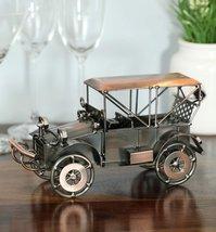 Copper Iron Retro Style Military Jeep Miniature Showpiece - $108.00
