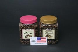 Kirkland Signature Milk Chocolate Covered Raisins,Chocolate Covered Almonds - $40.19