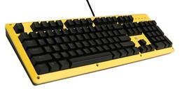 BFriend MK8 Korean English Gaming Keyboard Mechanical Plunger Switch (Yellow)