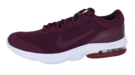 Nike Air Max Advantage Running Shoes Red Bordeaux White $85 908981-600 M... - $64.99