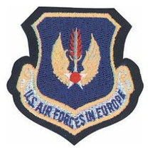 Air Force Forces In Europe Command Leather Hook Loop Patch - $15.33