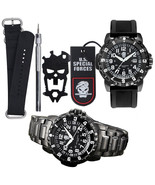 SURVIVAL Waterproof Hiking Military Tactical Outdoor Luminous Watch In A... - $73.99