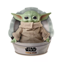 Baby Yoda Plush The Child Mandalorian Star Wars 11 Inch Mattel - $49.56