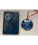 Bing & Grondahl Copenhagen 1989 ornament Christmas in America New Englan... - $5.93