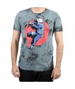 Naruto Kakashi Character Crystal Wash Tie Dye T-Shirt Multi-Color - $33.98