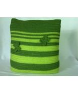 Handmade knitted decorative cushion cover - home decoration- 40 x 40 cm - $28.00