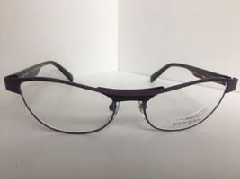 New ALAIN MIKLI AL1220 AL 1220 M0B8 55mm Purple Eyeglasses Frame France - $436.59