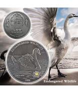 WR Endangered Wildlife Nickel Coin Cygnusolor Animal Gifts Mongolian Sou... - $3.49