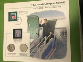 JFK Leaves for European Summit May 31, 1961 Collector Page - $7.90