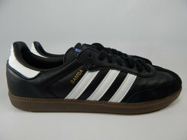 Adidas Samba Og Taglia US 10 M (D) Eu 44 Uomo Scarpe Sneakers Nero B75807 - $52.97