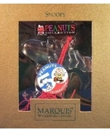 Waterford Crystal PEANUTS 50TH ANNIVERSARY Collector's Ornament (SNOOPY) - $97.99