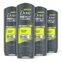 DOVE MEN + CARE Sport Body and Face Wash for Fresh, Clean Skin Active and Fresh - $31.16
