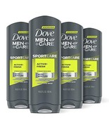 DOVE MEN + CARE Sport Body and Face Wash for Fresh, Clean Skin Active an... - $31.16