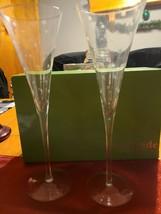 Set Of Kate Spade Larabee Dot Lenox Crystal Champagne Toast Flute - $70.00