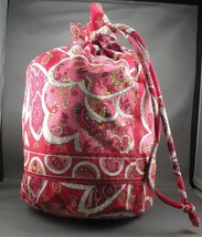 Vera Bradley Ditty Bag in Rosy Posies - Retired Pattern - £14.40 GBP