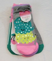 Happy Girl women's 6-pair No Show Socks Ice Cream  - $4.89