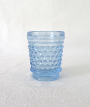 LE Smith, Toothpick Holder Blue Hobnail  - $9.00