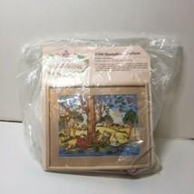 "Bumpkin Hollow Embroidery Kit Creative Circle 1788 Quilting 12"" x 16""  - $14.50"