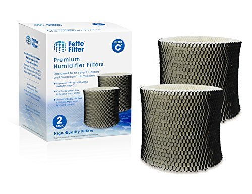 Fette Filter - Humidifier Wicking Filter Compatible with Holmes HWF65, HWF65PDQ-