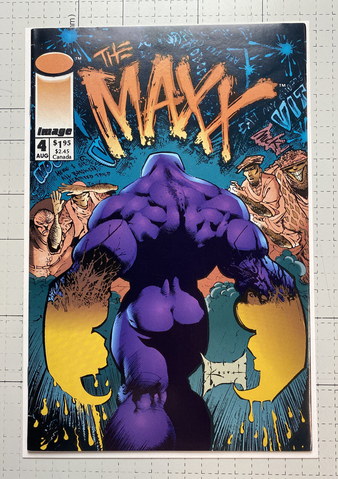 Primary image for The Maxx #4 1993 Image (High Grade)