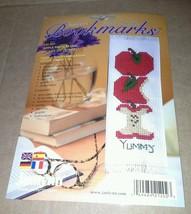 NIP Janlynn Apple Bookmark Counted Cross Stitch Kit USA 21 202 Multi Lingual - $14.99
