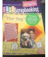New Sealed Better Homes and Gardens Fast Scrapbooking Book Memories - $13.99