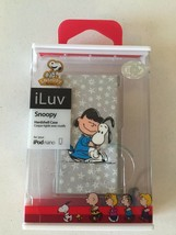 Snoopy & Lucy Peanuts iPod Nano Case iLuv Protective Hardshell 7G Brand New - $7.91