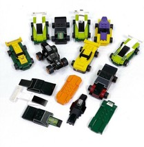 Lego Racers McDonalds Happy Meal Toy Cars 2009 Lot of 9 Plus Lots Of Spa... - $8.81