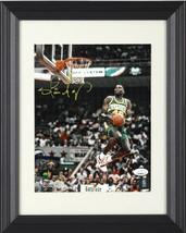 Shawn Kemp signed Seattle SuperSonics NBA 8X10 Photo Custom Framing- JSA... - $109.95