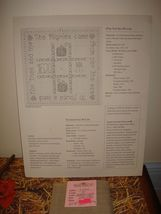 Shepards Bush Pattern Book, 18ct. Fabric And Homespun Heart Thanksgiving Buttons image 4