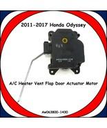 2011-2017 Honda Odyssey A/C Heater Vent Flap Door Actuator Motor AW06380... - $59.35